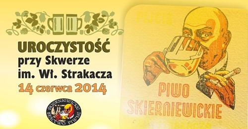 Skwer Strakacza - uroczystości